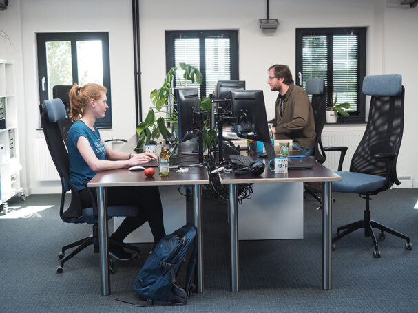 e-pixler Büro Mitarbeiter