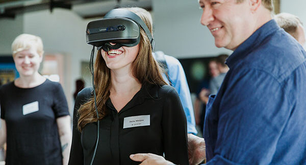 e-pixler VR-Brille Demonstration