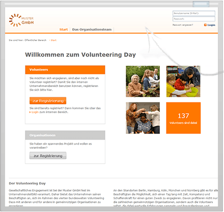 Volunteering Manager eigenes CI
