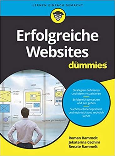 Buchprojekt erfolgreiche Webseiten für Dummies