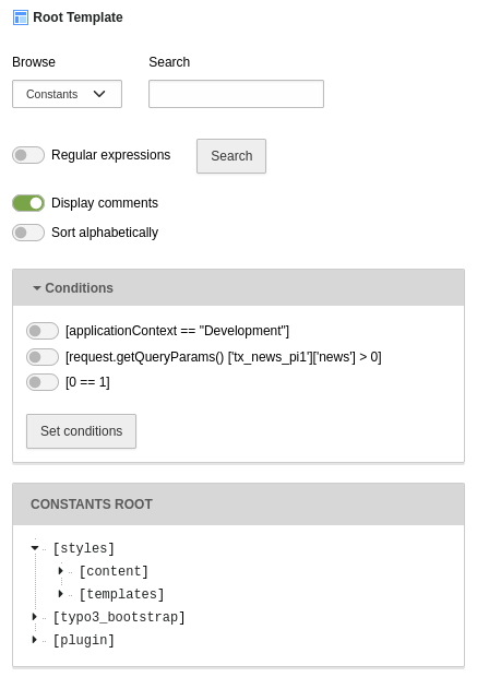 TYPO3 11 Template Modul im Backend