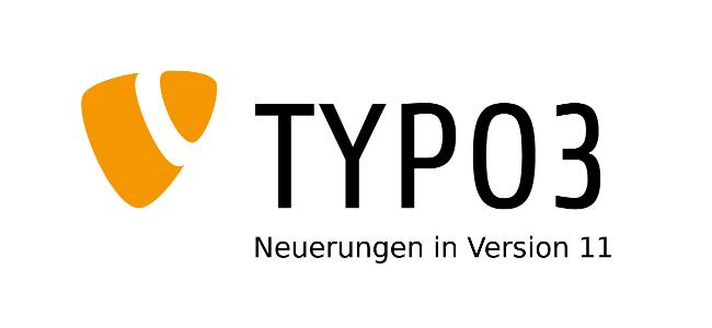 Logo TYPO3 Neuerungen in Version 11